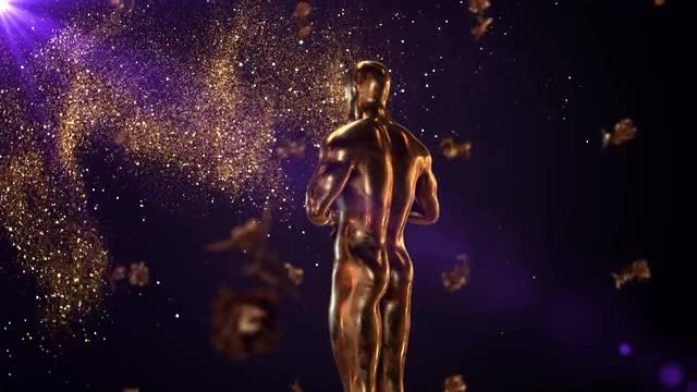 Gold Trophy: Stock Motion Graphics