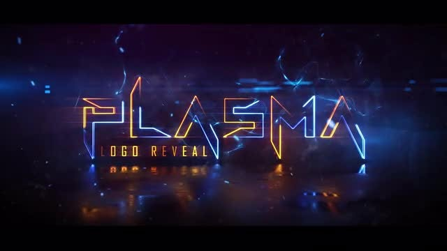 Plasma Logo Reveal: After Effects Templates