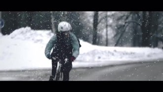 Snow Footages: Motion Graphics