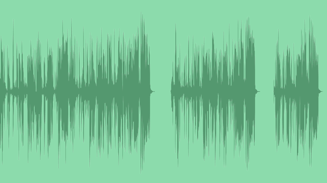 Bass And Claps Logo 2: Royalty Free Music