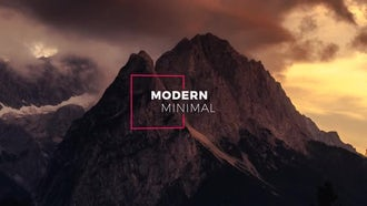 12 Modern Minimal Titles: After Effects Templates