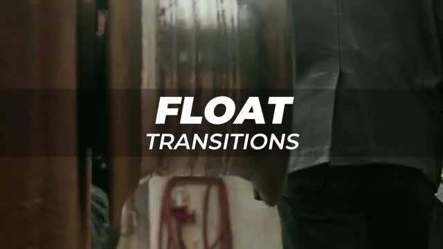 Float Transitions: After Effects Presets
