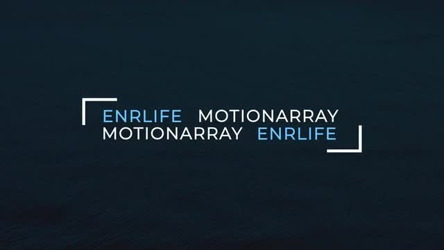 Minimal Titles | 4K: After Effects Templates