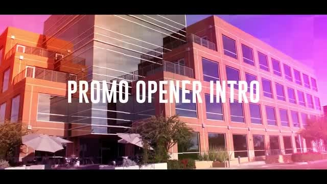 Promo Opener Intro: After Effects Templates