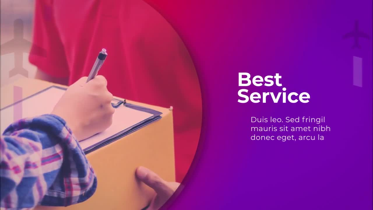 Logistic Company Presentation - After Effects Templates