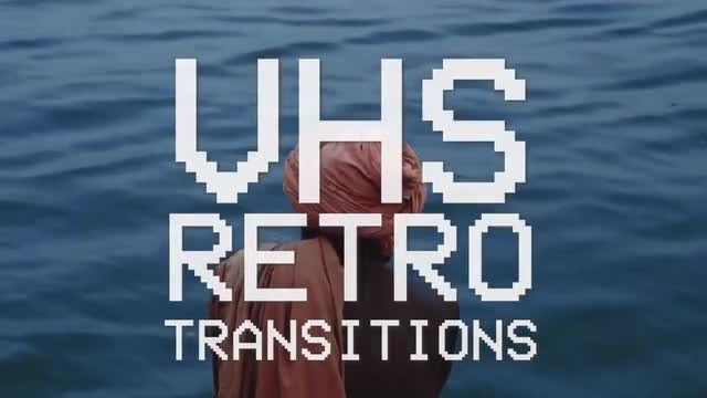 VHS Retro Transitions: Premiere Pro Templates