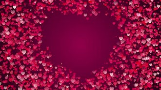 Heart Background: Motion Graphics