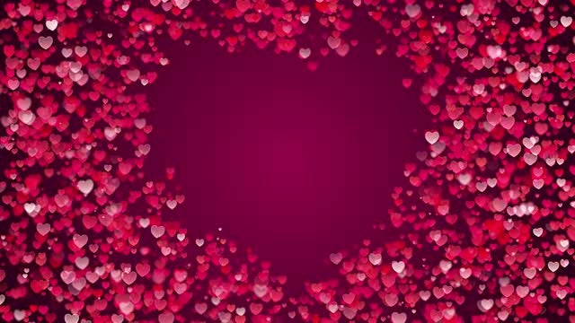 Heart Background: Stock Motion Graphics