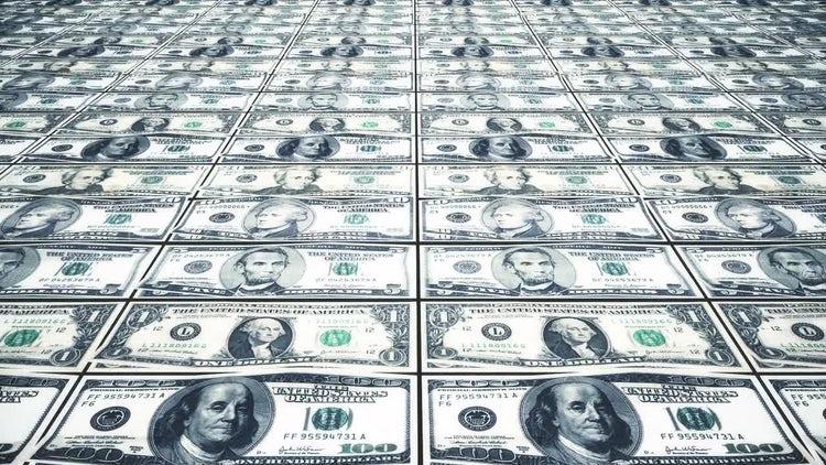 Printing Money: Stock Motion Graphics