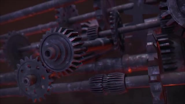 Old Gears Logo: After Effects Templates