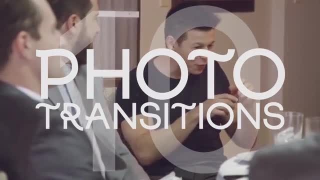 Photo Transitions: After Effects Templates