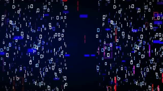 Binary Code Background: Stock Motion Graphics