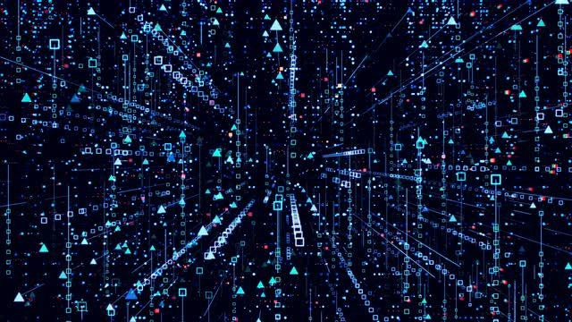 Data Background: Stock Motion Graphics