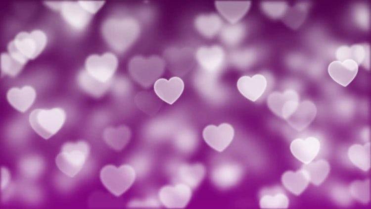 Love Bokeh Loop: Stock Motion Graphics
