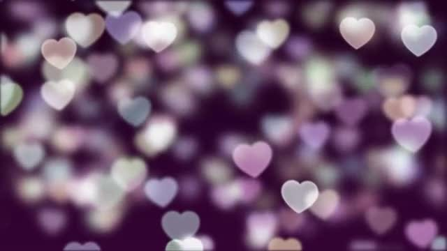 Love Bokeh Background Loop 04: Stock Motion Graphics