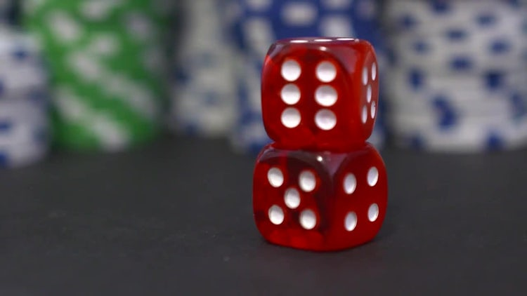 Chips And Dice: Stock Video
