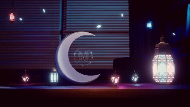 Elegant Ramadan Logo: After Effects Templates