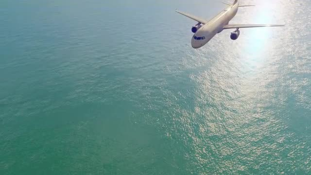 Flying Plane: Stock Motion Graphics
