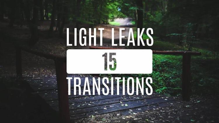 15 Light Leaks: Stock Video