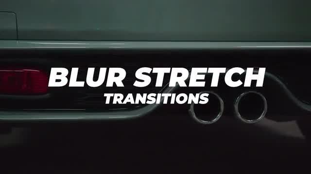 Blur Stretch Transitions: Premiere Pro Presets