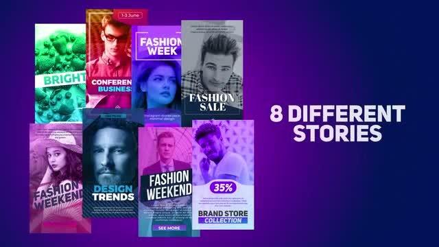 8 Different Stories: Premiere Pro Templates