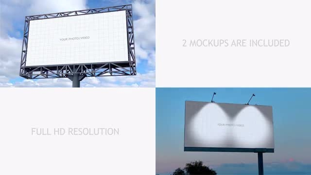 Mockup Of City Advertising Vol 3: After Effects Templates