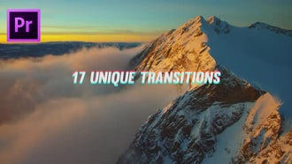 Smooth Distorted Transitions: Premiere Pro Templates