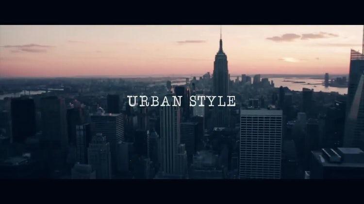Urban Style: Premiere Pro Templates
