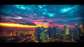 Modern Parallax Slideshow: After Effects Templates