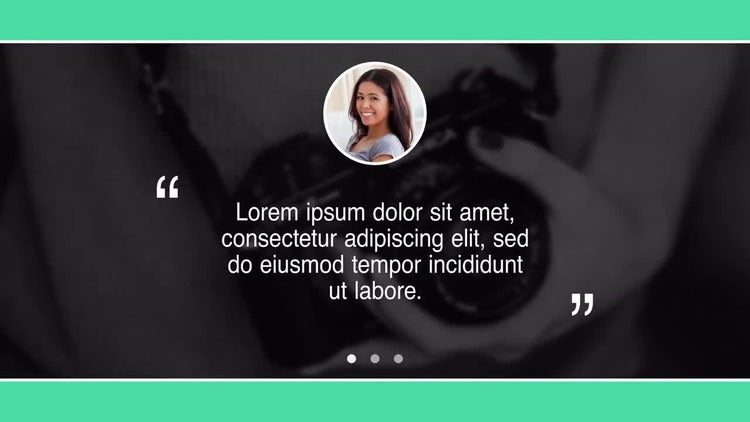 Testimonials: After Effects Templates