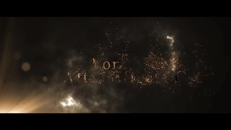 Cinematic Trailer Opener: After Effects Templates