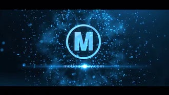 Particle Streak Logo: After Effects Templates