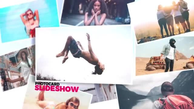 Photocard Slideshow: After Effects Templates
