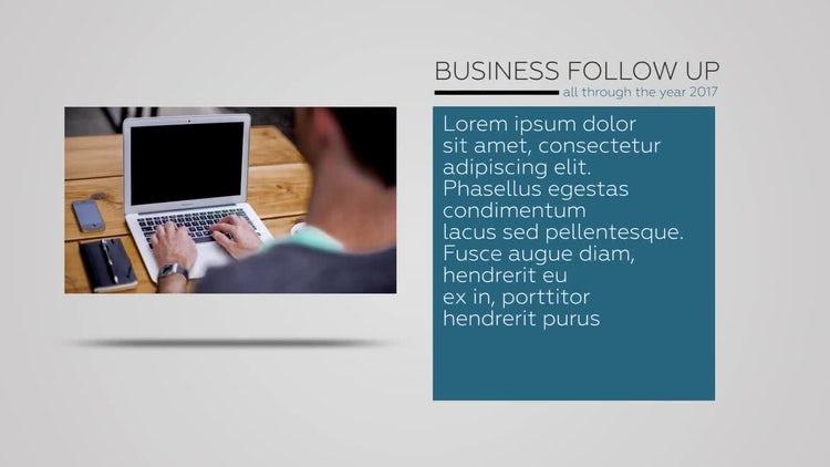 Corporate Slideshow Presentation: Premiere Pro Templates