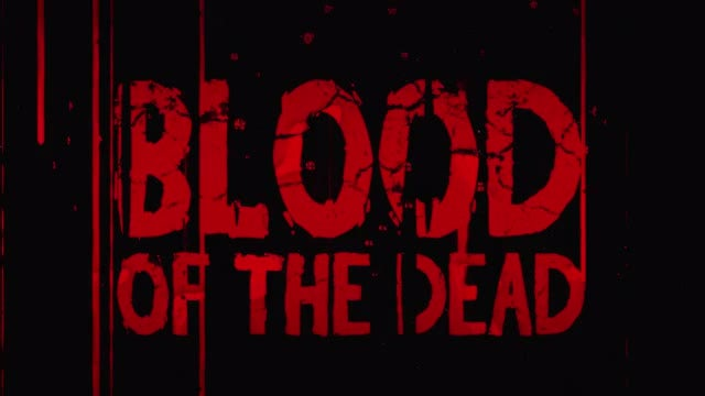 Blood Of The Dead Title Reveal: After Effects Templates