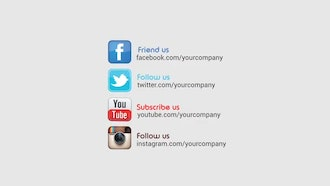 16 Social Media Titles After Effects Templates Motion