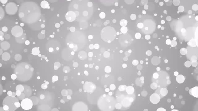 White Bokeh Background: Stock Motion Graphics