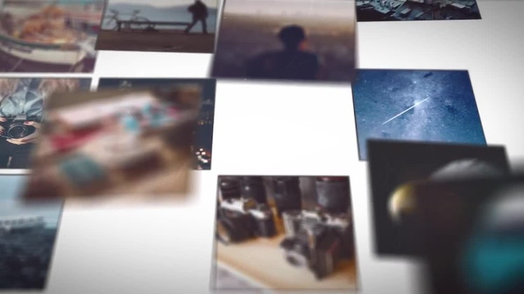 After effects slideshow template
