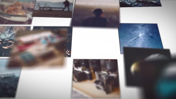Mosaic Picture Slideshow: After Effects Templates