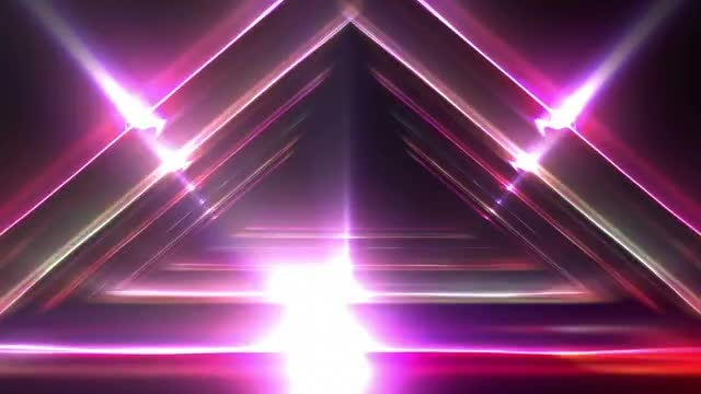 VJ Light Structures: Stock Motion Graphics
