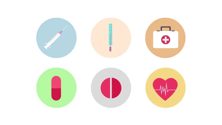Animated Medical Icons: After Effects Templates