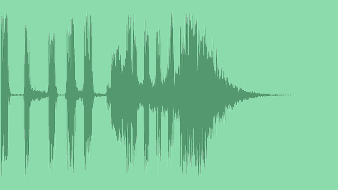 Bass And Claps Logo: Royalty Free Music