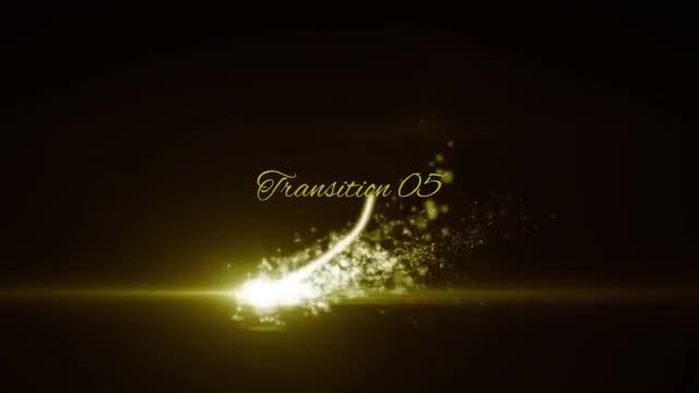 Particle Streak Transitions: Stock Motion Graphics