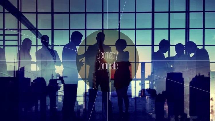 Corporate - Geometry Promo: Premiere Pro Templates