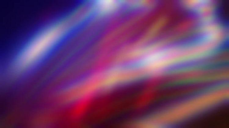 Iridescent Blur: Stock Motion Graphics