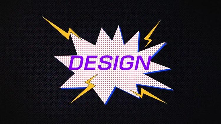 Comic Fast Stomp: Motion Graphics Templates