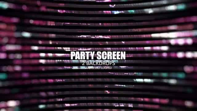 Party Screen: Stock Motion Graphics