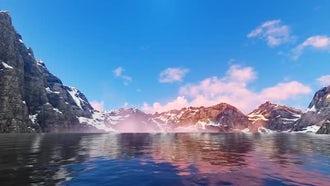 Mountain Lake: Motion Graphics
