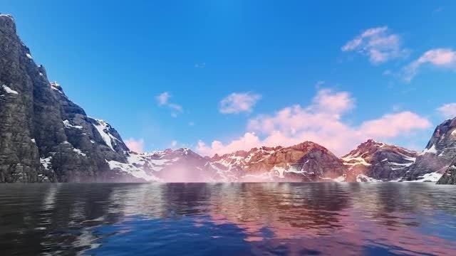 Mountain Lake: Stock Motion Graphics