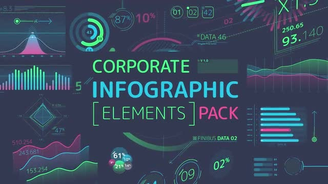 Corporate Infographic Elements Pack: Stock Motion Graphics
